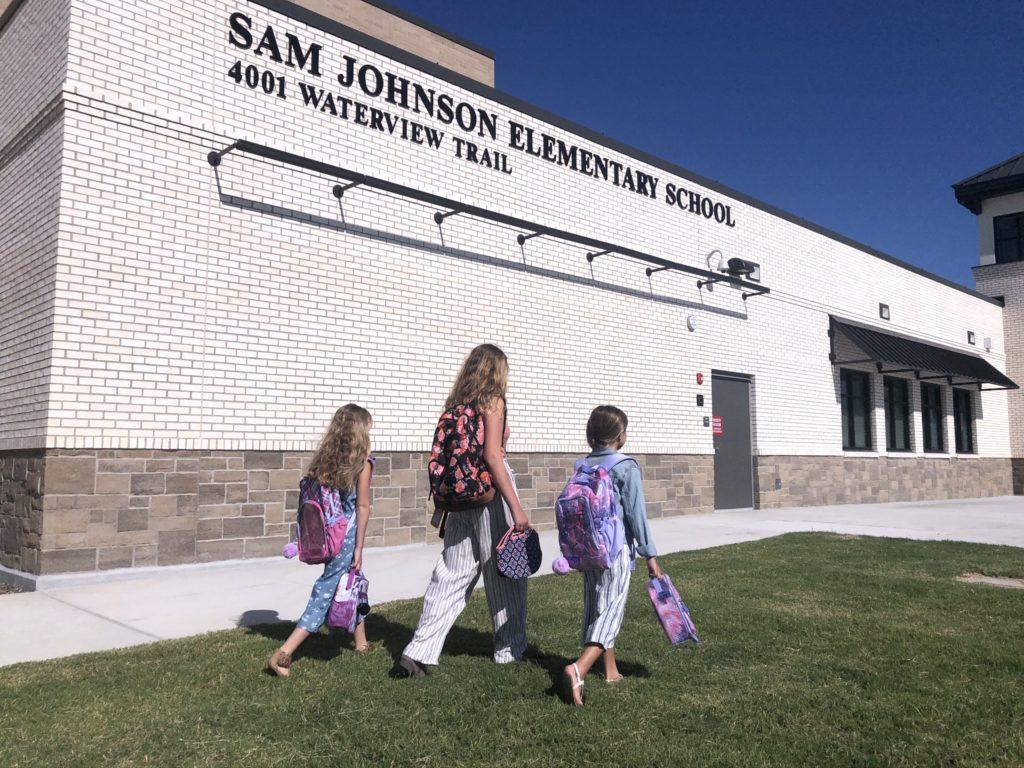 Sam Johnson Elementary at Mustang Lakes